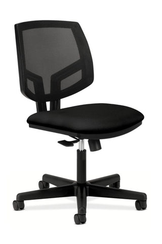 HON Volt Mesh Back Task Chair | Center-Tilt, Tension, Lock | Black Fabric ; UPC: 881728407728 ; Image 1