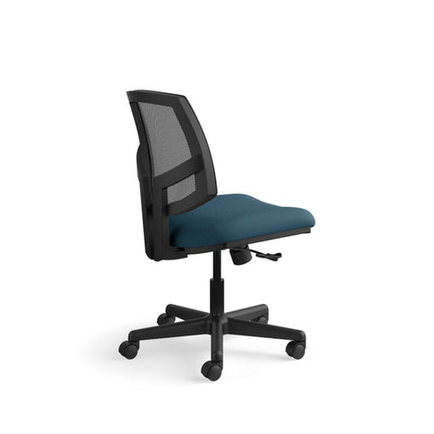 HON Volt Mesh Back Task Chair | Center-Tilt, Tension, Lock | Navy Fabric ; UPC: 881728407766 ; Image 4