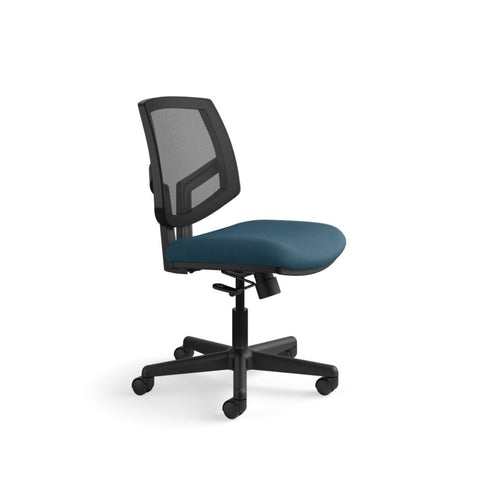 HON Volt Mesh Back Task Chair | Center-Tilt, Tension, Lock | Navy Fabric ; UPC: 881728407766 ; Image 2