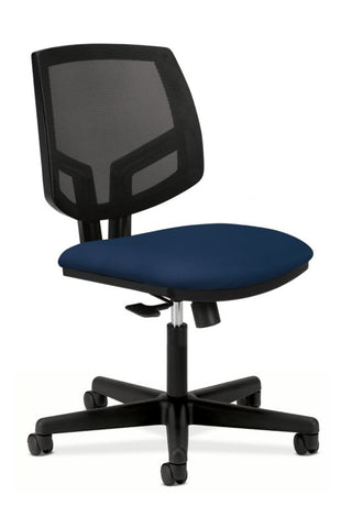 HON Volt Mesh Back Task Chair | Center-Tilt, Tension, Lock | Navy Fabric ; UPC: 881728407766 ; Image 1