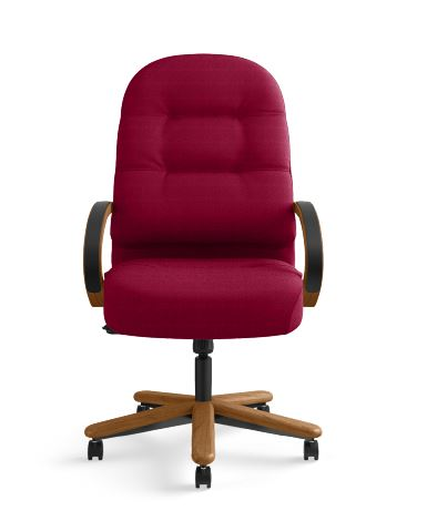 hon-pillow-soft-2190-series-executive-high-back-chair-marsala ; Image 1