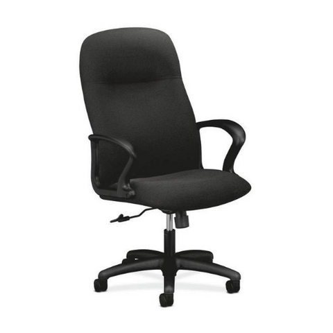 HON Gamut Executive High-Back Chair HON2071AB10T, Black (UPC:641128902687)