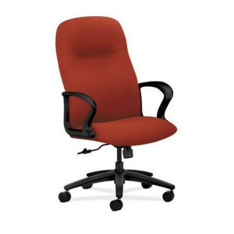 HON Gamut Executive High-Back Chair HON2071CU42T, Red (UPC:0)