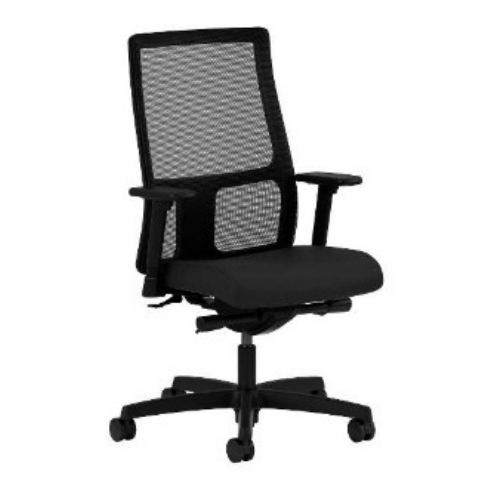 HON Ignition Low-Back Mesh Task Chair in Black ; UPC: 089192005505