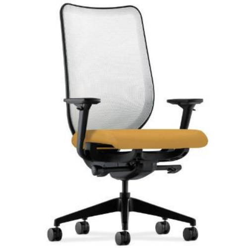 HON Nucleus Task Chair in Mustard ; UPC: 888531442762