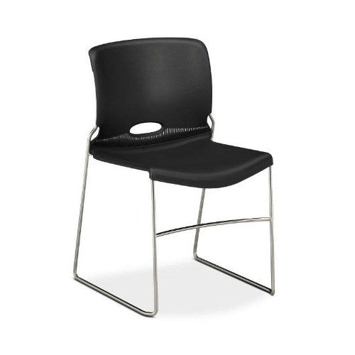 HON Olson High-Density Stacking Chair HON4041ON, Red (UPC:791579420886)
