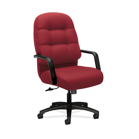 HON Pillow-Soft Executive High-Back Chair in Marsala
