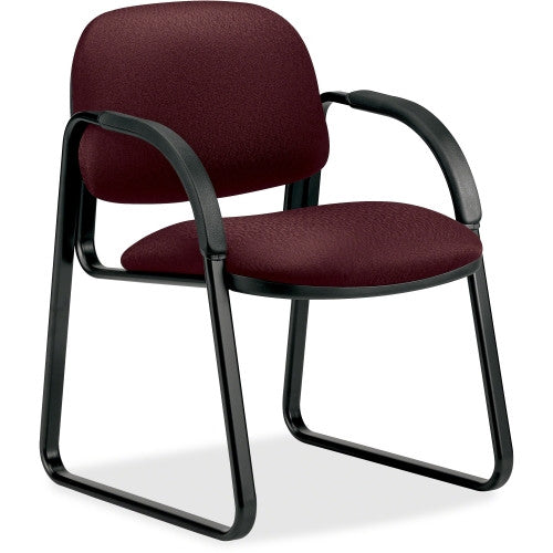 HON Sensible Seating 6008 Sled Base Guest Chair HON6008NT69T, Red (UPC:641128101806)
