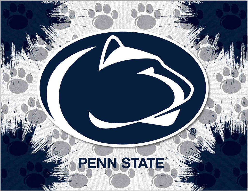 "Penn State 15"" x 20"" Logo Canvas by Holland Bar Stool Company; UPC: 071235790929"