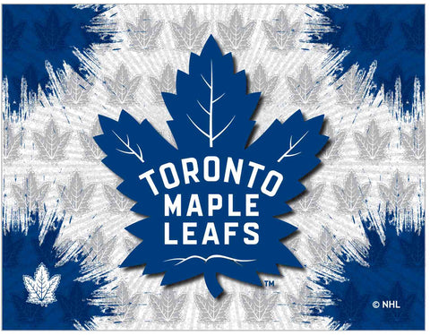 "Toronto Maple Leafs 24"" x 32"" Logo Canvas by Holland Bar Stool Company; UPC: 071235793340"