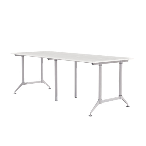 "Safco Products EVEN Workstation, 4-Person 30 x 60"", Standing-Height LD11SW(Image 1)"