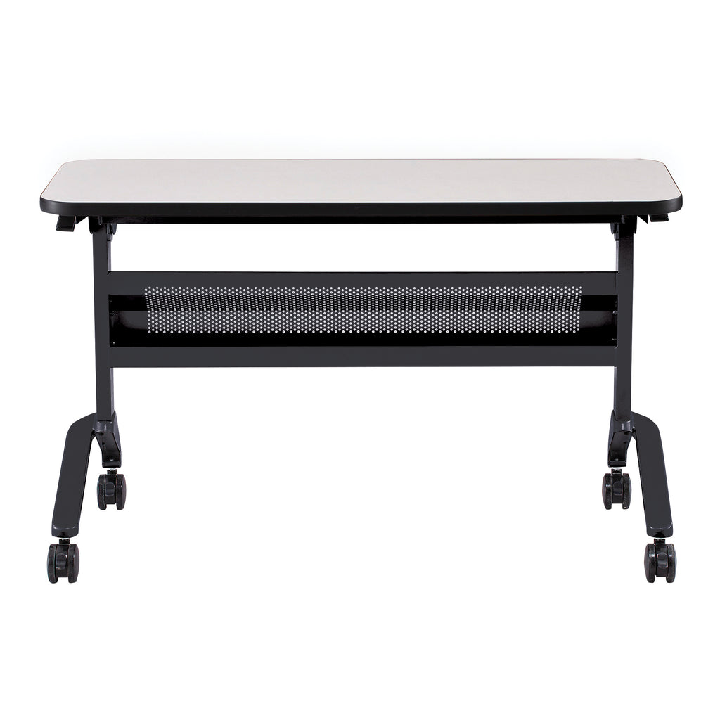 "Safco Products Flip-N-Go 18 x 48"" Rectangular Training Table, LPL LF1848TSFLK4(Image 1)"