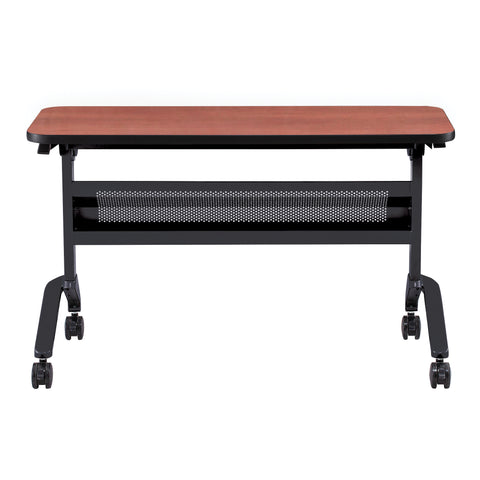 "Safco Products Flip-N-Go 18 x 48"" Rectangular Training Table, LPL LF1848TSLCRM(Image 2)"