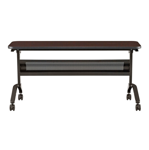 "Safco Products Flip-N-Go 18 x 60"" Rectangular Training Table, LPL LF1860TSLDCM(Image 2)"