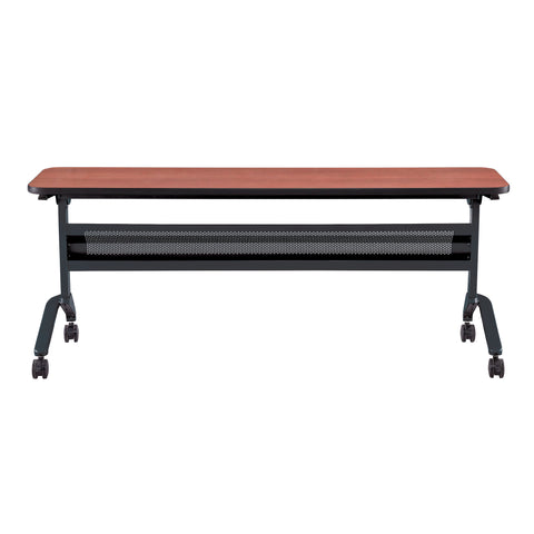 "Safco Products Flip-N-Go 18 x 72"" Rectangular Training Table, LPL LF1872TSLCRM(Image 2)"