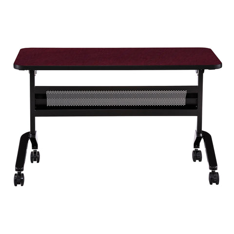 "Safco Products Flip-N-Go 24 x 48"" Rectangular Training Table, LPL LF2448TSRMH(Image 2)"