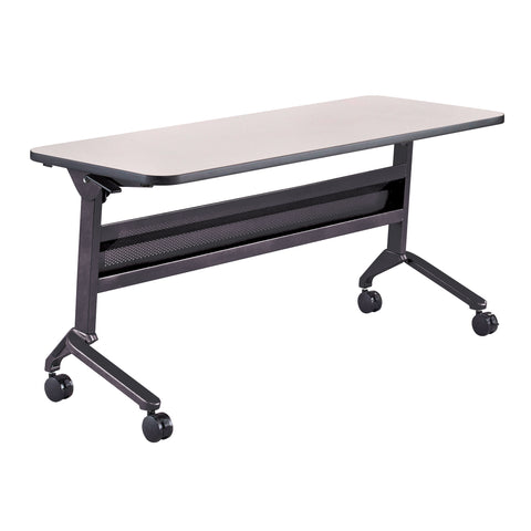 "Safco Products Flip-N-Go 24 x 60"" Rectangular Training Table, LPL LF2460TSFLK4(Image 1)"