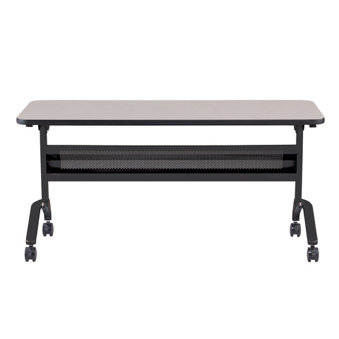 "Safco Products Flip-N-Go 24 x 60"" Rectangular Training Table, LPL LF2460TSFLK4(Image 2)"