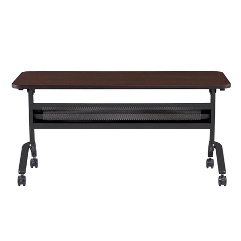 "Safco Products Flip-N-Go 24 x 60"" Rectangular Training Table, LPL LF2460TSLDCM(Image 2)"