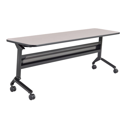 "Safco Products Flip-N-Go 24 x 72"" Rectangular Training Table, LPL LF2472TSFLK4(Image 1)"