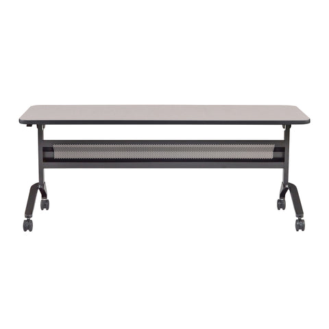 "Safco Products Flip-N-Go 24 x 72"" Rectangular Training Table, LPL LF2472TSFLK4(Image 2)"