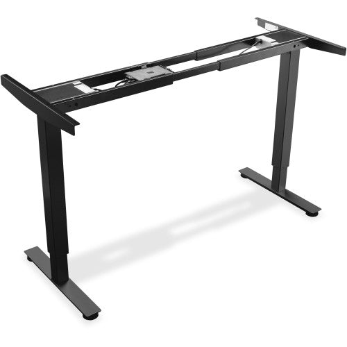 Lorell Electric Height Adj. Sit-Stand Desk Frame LLR25988, Black (UPC:035255259880)