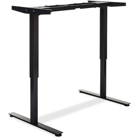 Lorell Electric Height Adj. Sit-Stand Desk Frame LLR25994, Black (UPC:035255259941)