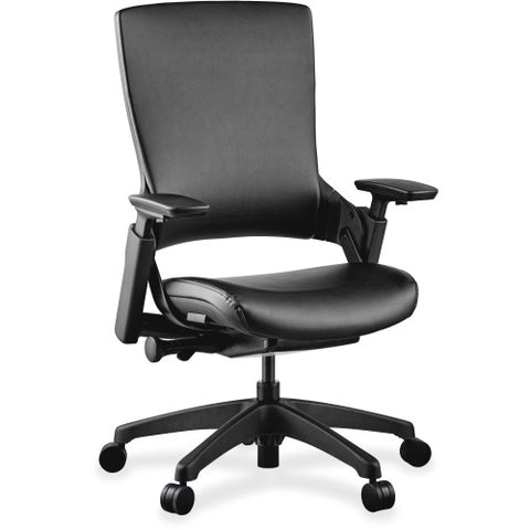 Lorell Executive Multifunction High-back Chair LLR59529, Black (UPC:035255595292)