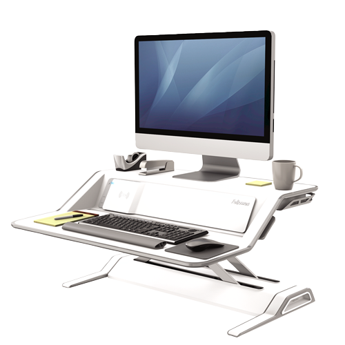 fellowes-lotus-dx-sit-stand-workstation-fel8080201 ; UPC 043859728039