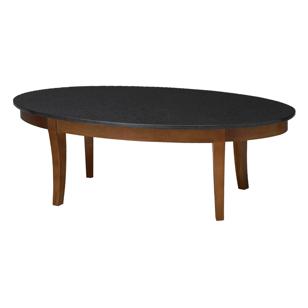Safco Products Midnight Coffee Table with Black Granite Top M103CSCR(Image 1)