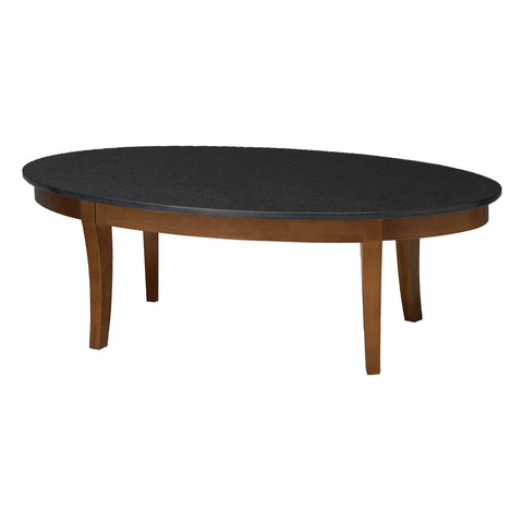 Safco Products Midnight Coffee Table with Black Granite Top M103CSCR(Image 2)