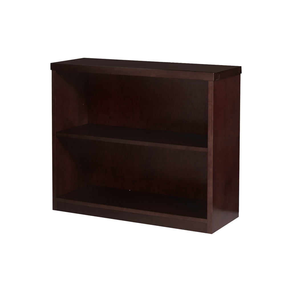 Safco Products Mira Series 2-Shelf Bookcase MBC3629ESP(Image 1)
