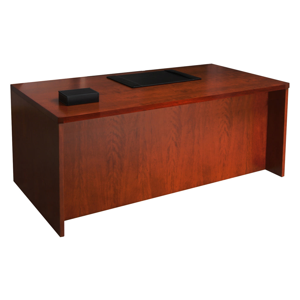 "Safco Products Mira Series 66"" Straight Front Desk MDKS3066MC(Image 2)"