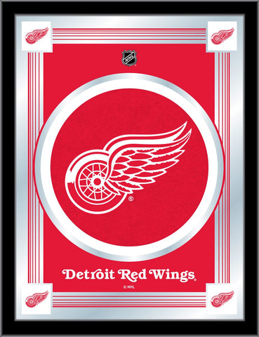 Detroit Red Wings 17 x 22 Logo Mirror by Holland Bar Stool Company; UPC: 071235381363