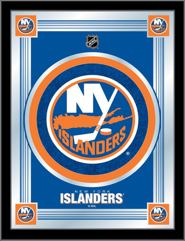 New York Islanders 17 x 22 Logo Mirror by Holland Bar Stool Company; UPC: 071235381448