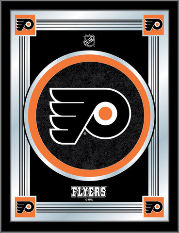Philadelphia Flyers 17 x 22 Logo Mirror by Holland Bar Stool Company; UPC: 071235381479