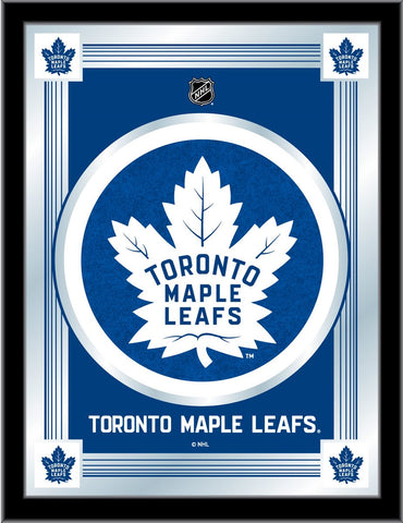 Toronto Maple Leafs 17 x 22 Logo Mirror by Holland Bar Stool Company; UPC: 071235381530