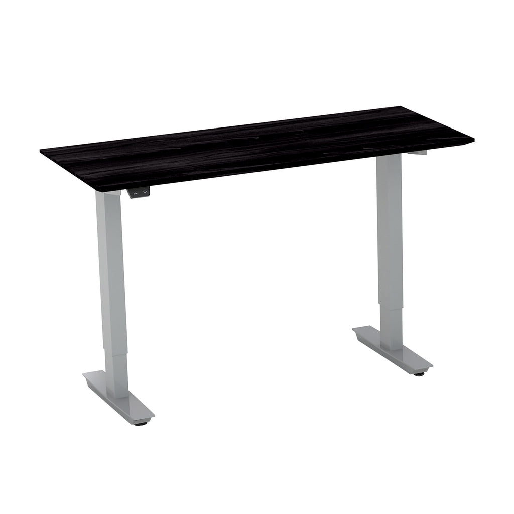 "Safco Products Medina 48"" Straight Bridge with 2-Stage Height-Adj Base MNBDGH2LDC(Image 2)"