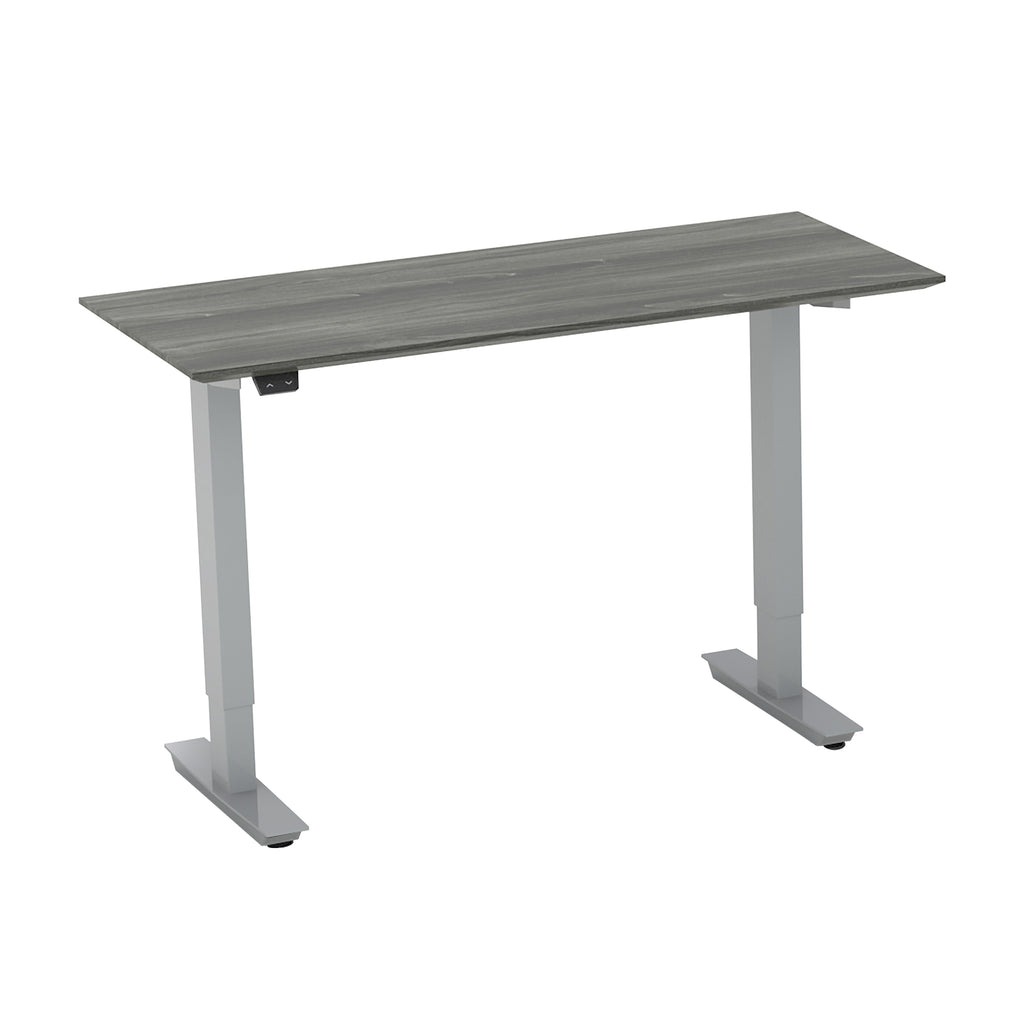 "Safco Products Medina 48"" Straight Bridge with 2-Stage Height-Adj Base MNBDGH2LGS(Image 2)"
