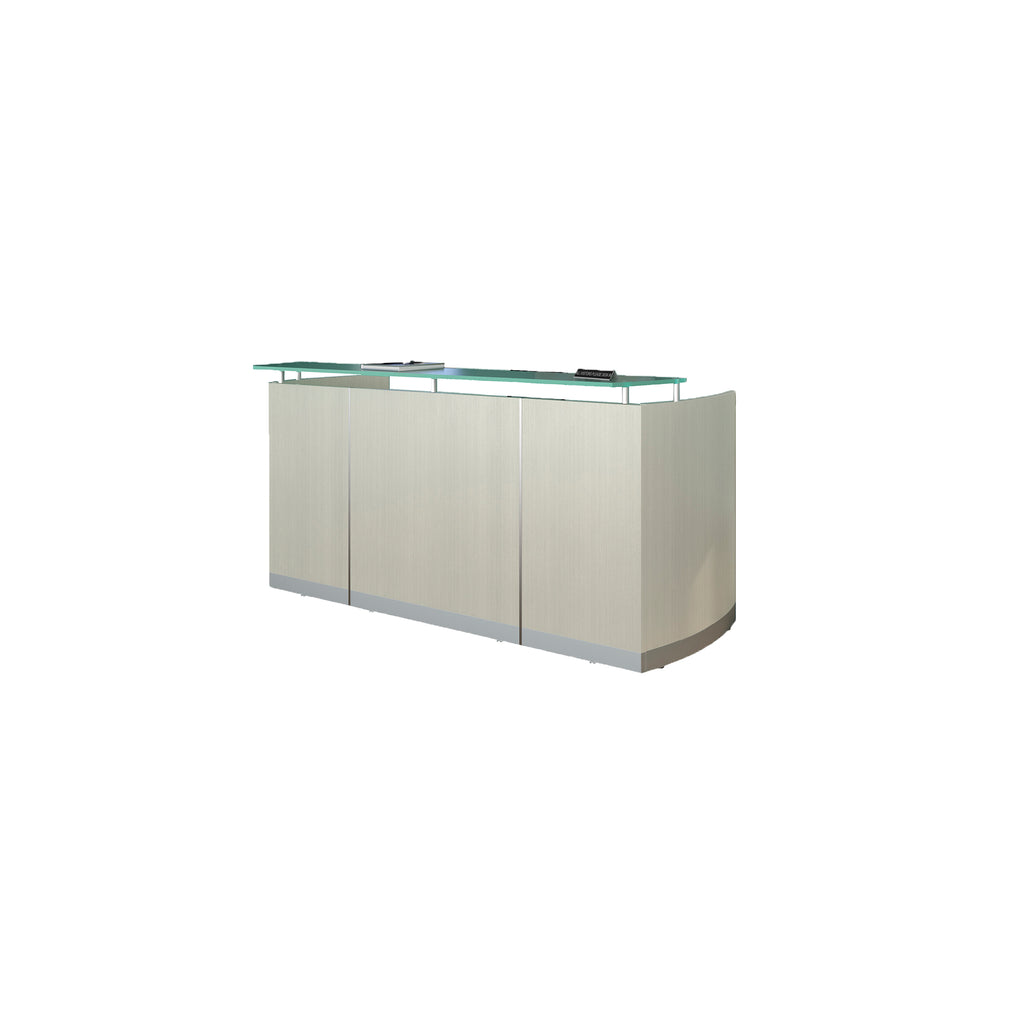 Safco Products Medina Reception Station, No Pedestals MNRSTSS(Image 2)