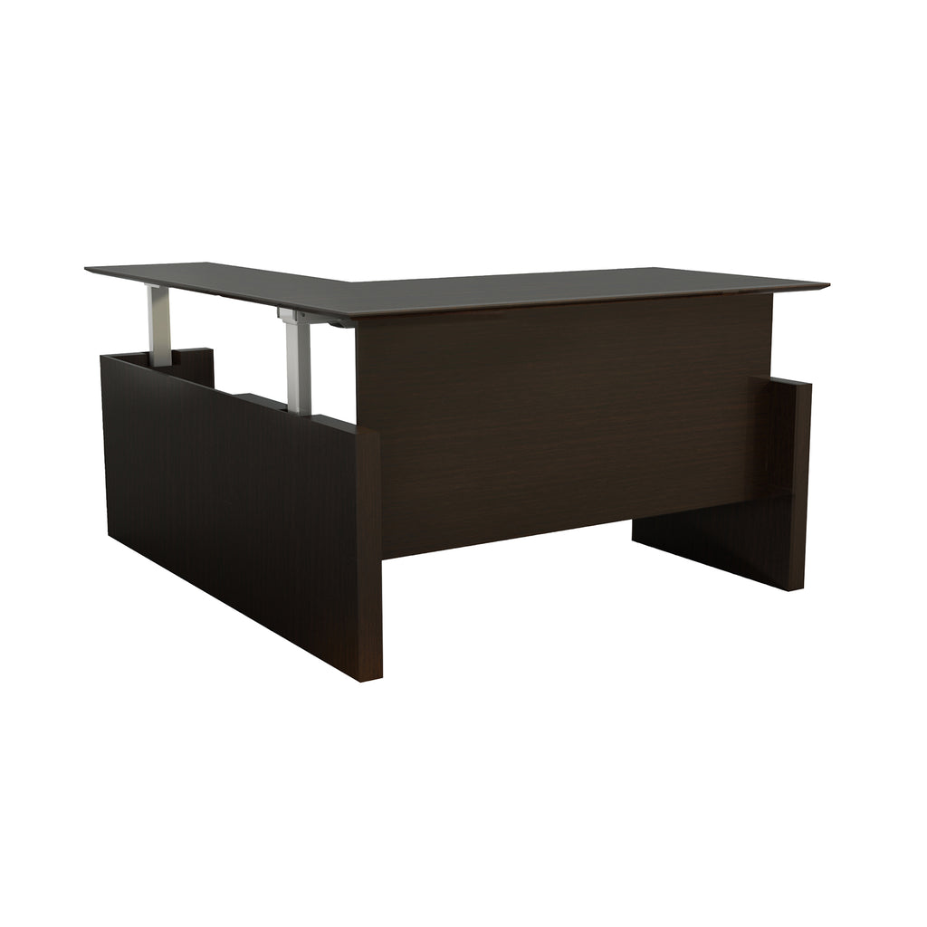 "Safco Products Medina 63"" Straight Front Desk with Return MNT52HLDC(Image 2)"
