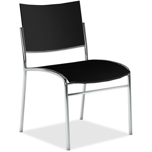 Mayline Escalate Stackable Chair MLNESC2B, Black (UPC:760771133146)