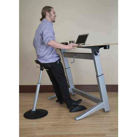 Mobis® Seat by Focal Upright™; Desk Setting (# FFS-1000-BK)