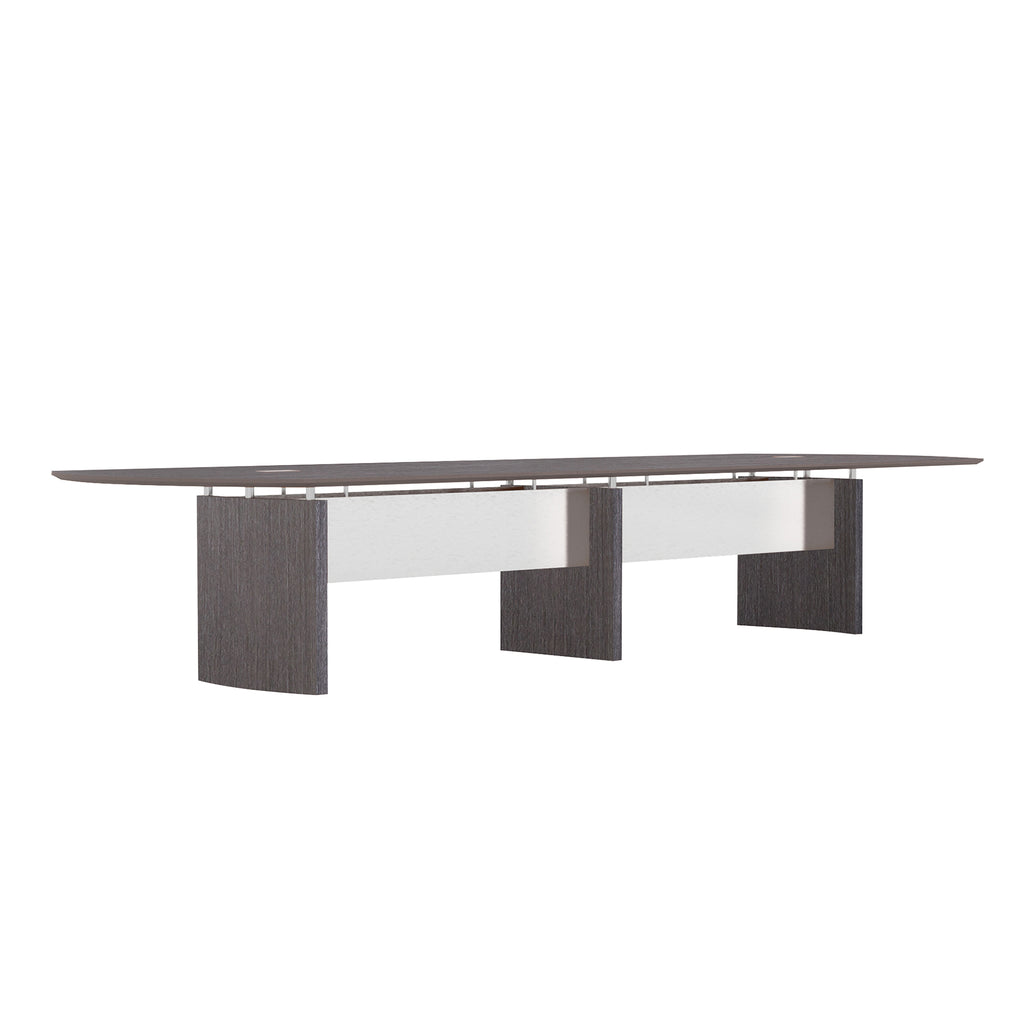 Safco Products Napoli 14' Conference Table NC14CGR(Image 2)