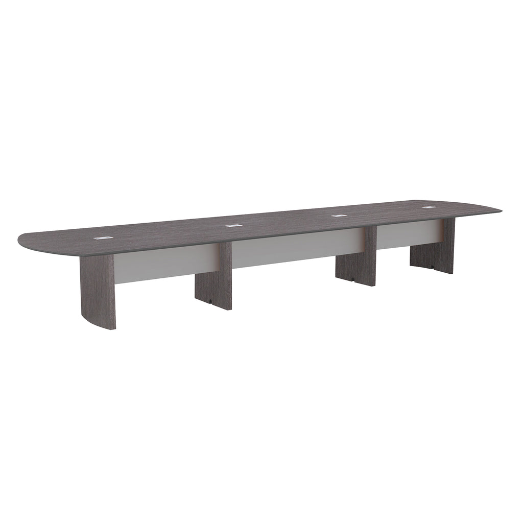 Safco Products Napoli 20' Conference Table NC20CGR(Image 2)