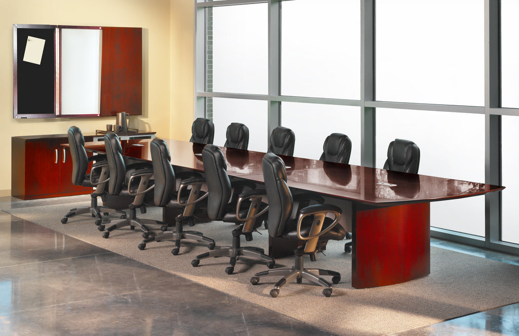 Safco Products Napoli 20' Conference Table NC20CRY(Image 1)