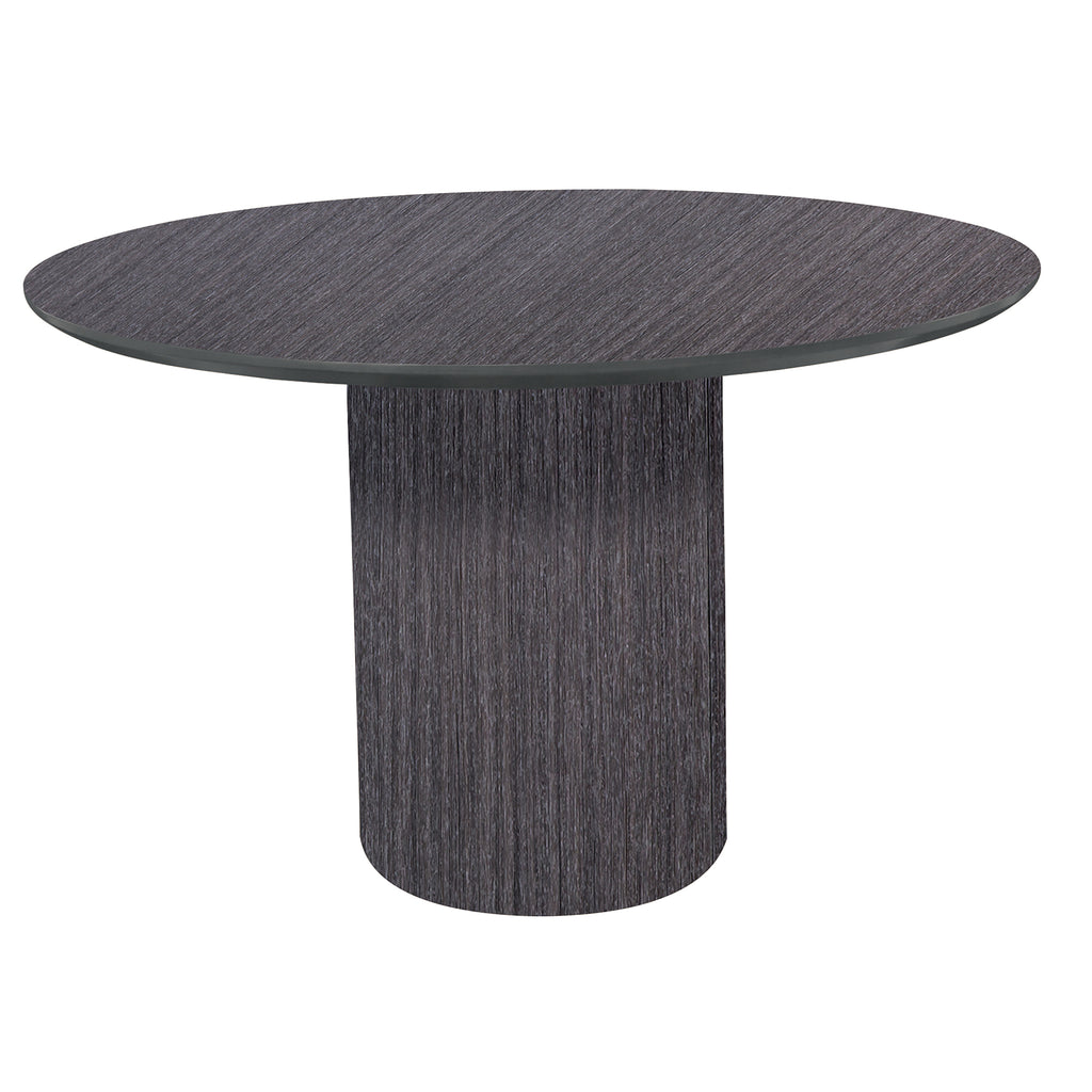 "Safco Products Napoli 48"" Round Conference Table NCR48CGR(Image 2)"