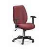 OFM Ergonomic Manager's Chair in Burgundy