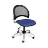 OFM Moon Swivel Chair in Colonial Blue