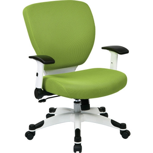Office Star Deluxe Mesh Task Chair OSP5200W6, Green (UPC:090234108795)